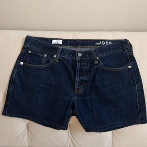 GAP 1969 Shorts 12P Denim Original Fit Blue Jean